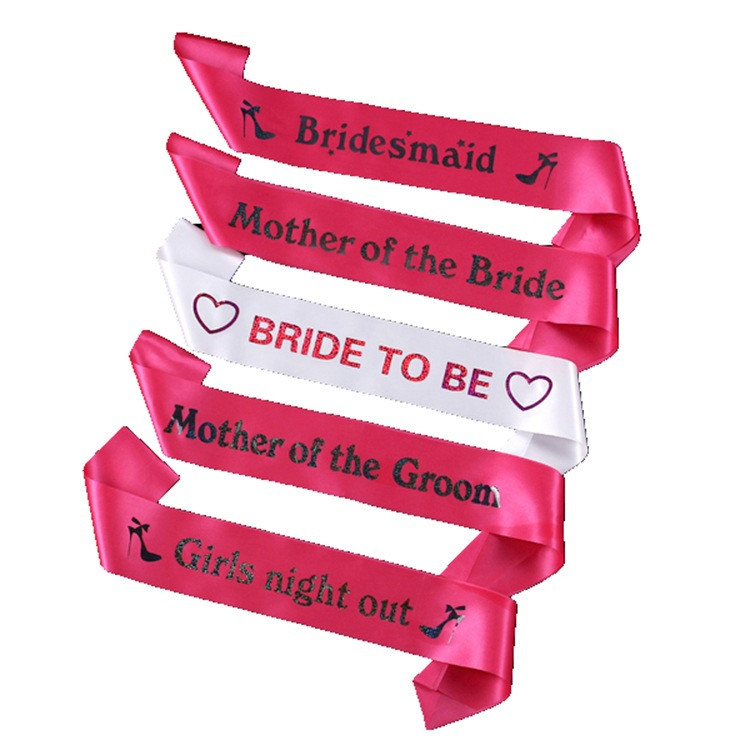 Bride To Be Girl Night Out Hen Party Sash