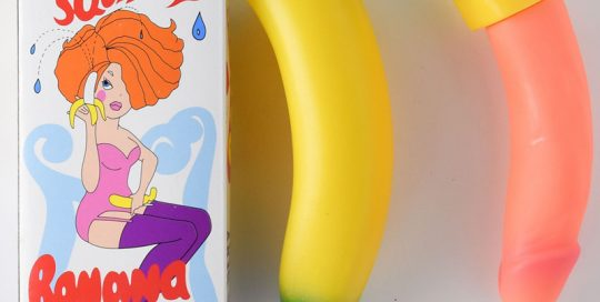 16CM Men's Squirting Willy Banana