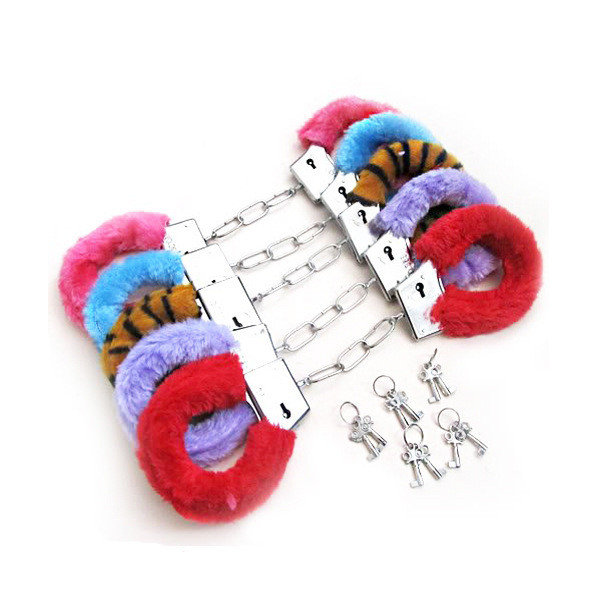 Hen Party Furry Play Handcuffs Multistyles
