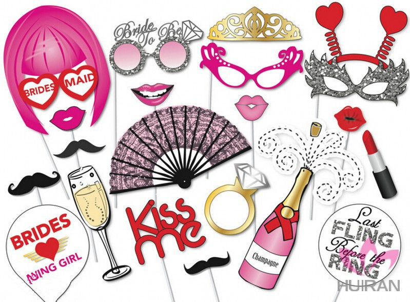 Hen Party Props Party Assorted Prop Booth