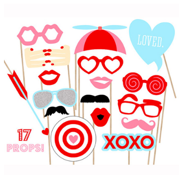 Hen Party Photo Props Party Kit