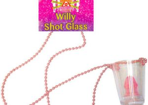 Willy Shot Glasses Bead Necklaces