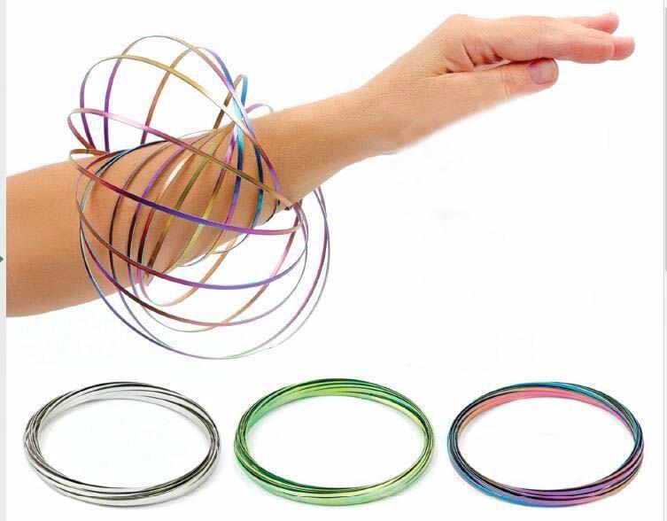 Dance Toy Interactive 3D Shaped Flow Bracelets Multi Sensory Fidget Toy