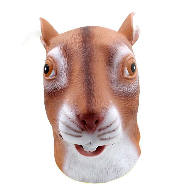 Adult Child Squirrel Mask Halloween Mask