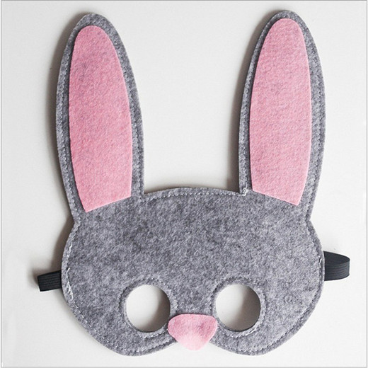 Non-woven Rabbit Mask For Easter Party Supplies