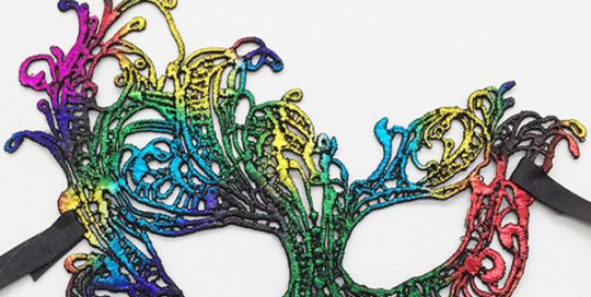 Exquisite Lace Masks Colorful Stereotypes Phoenix Masks for Masquerade Fancy