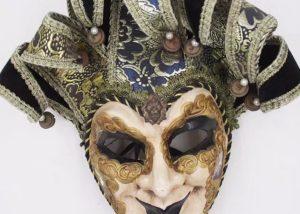 Jester Full Face Men Mask