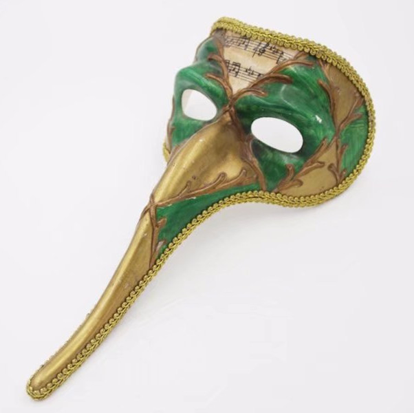 Capitano Long Nose Masqurade Mask