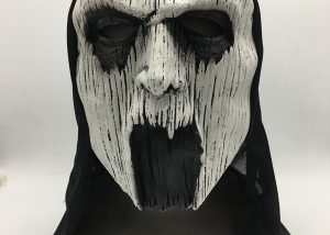 Halloween Scary Ghost Hoodie Mask Adult Male Face Mask