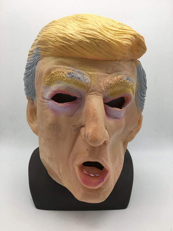 Distorted Face Mask Donald Trump Shouting Latex Mask Celebrate Masks