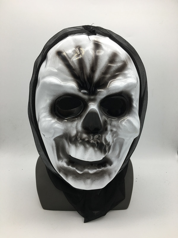 Zombie Skull Full Face Mask Dead Arising Halloween Novelty Item