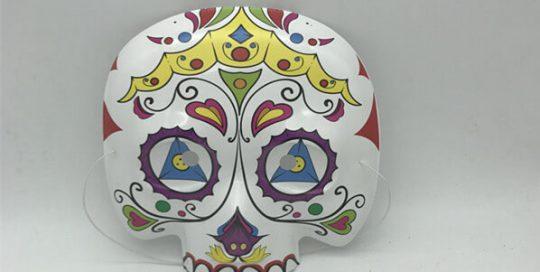 Mexican Day Of The Dead Sugar Skull Eyemask Masque Fancy Dress