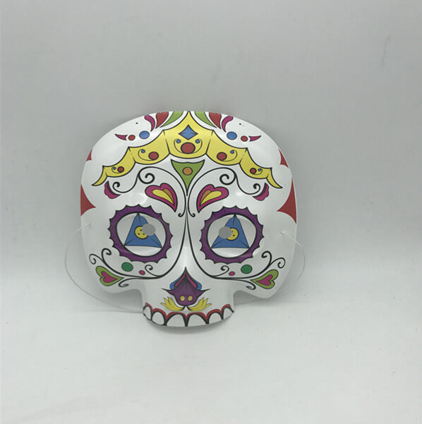 Mexican Day Of The Dead Sugar Skull Eyemask Masque Fancy Dress