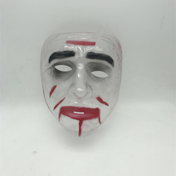 Blood Dripping Zombie Transparent Mask Halloween Party Mask
