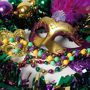 Mardi Gras Favor Lego Party