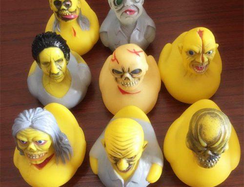 Creepy Baby Bath Vinyl Unicorn Duck Halloween Treat Or Trick Novelties