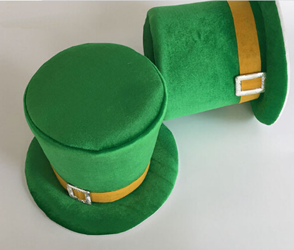 St Patrick S Day Costume Velvet Top Hat For Oriental Kmart