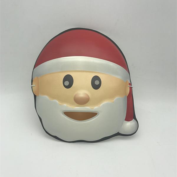 Christmas White Red Santa Eye Mask