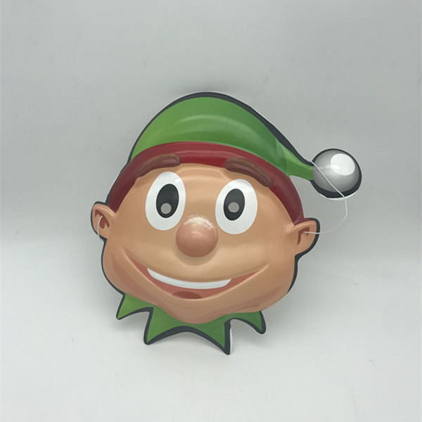Christmas Party Green Elf Mask