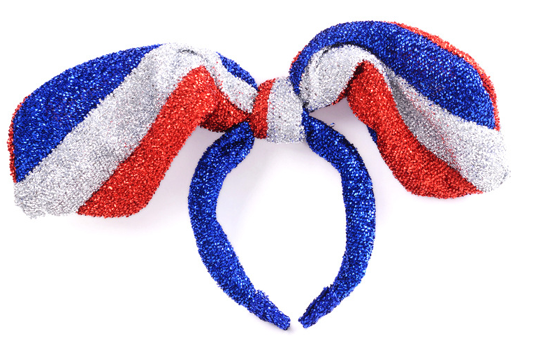 Patriotic Headband Bunny Rabbit Earhair Band
