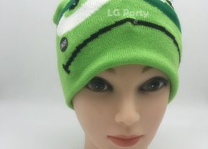 Green Monster Light Up Halloween Design Toques