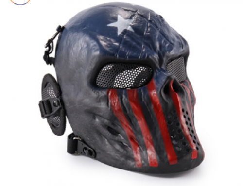 Full Face Protective Mask Skull Skeleton Mask Gear For CS Game Party