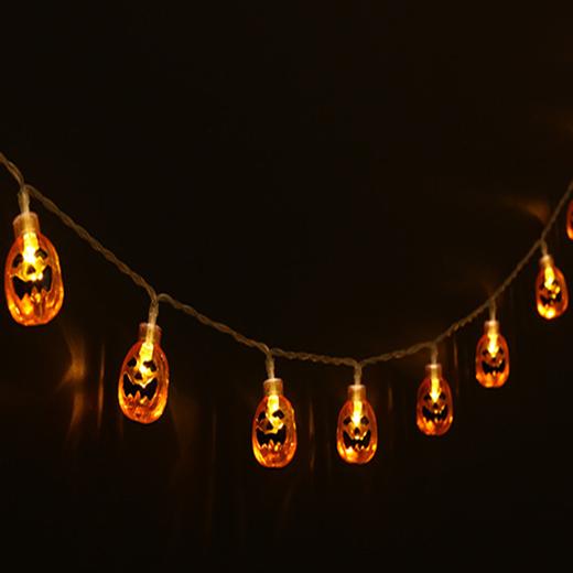 LED Light Up Pumpkin Deco