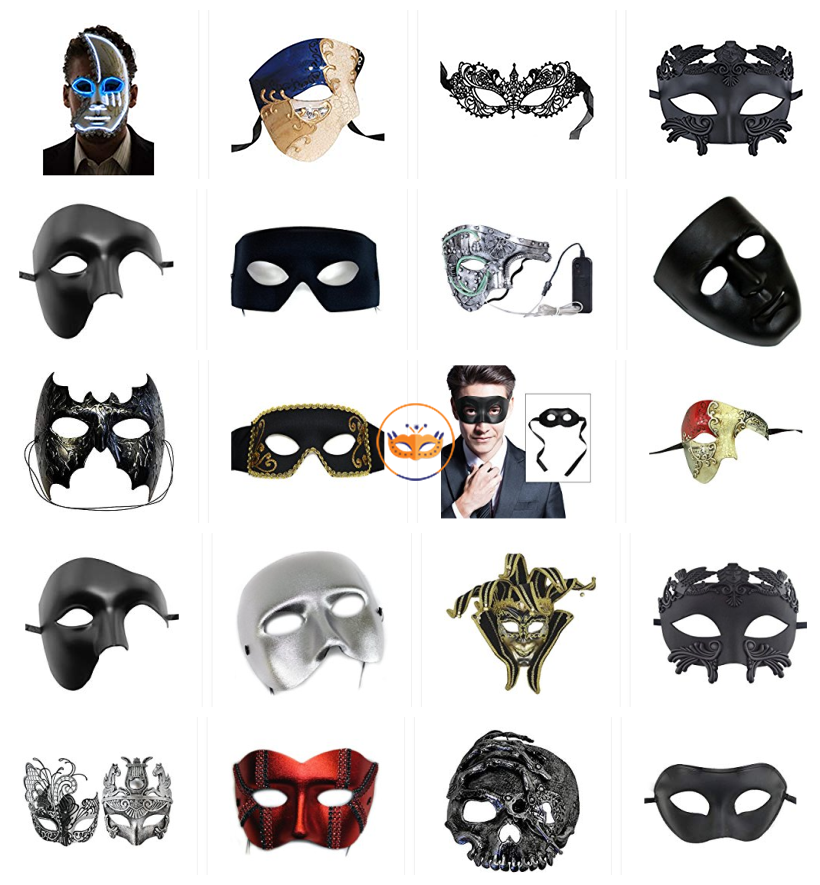 Venetian Party Mask For Men