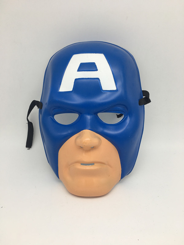 Captain Superhero Mask For Halloween Masquerade Party Cosplay Mask