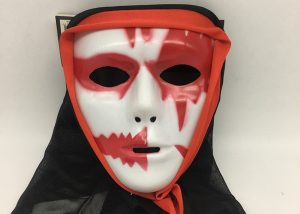Bloody Mask W Black Veil