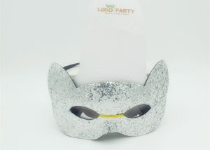 Glitter Cat Face Mask
