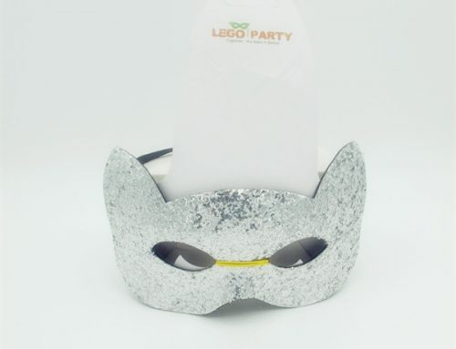 Cartoon Mask Party Mask Glitter Cat Face Mask For Costume Dress