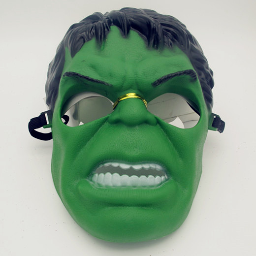 Hulk Plastic Mask Licensed Marvel Avengers Age Ultron Hulk Mask