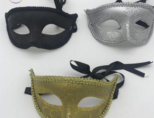 Black Gold Silver Rimini Toscana Masquerade Masks For Party Ball