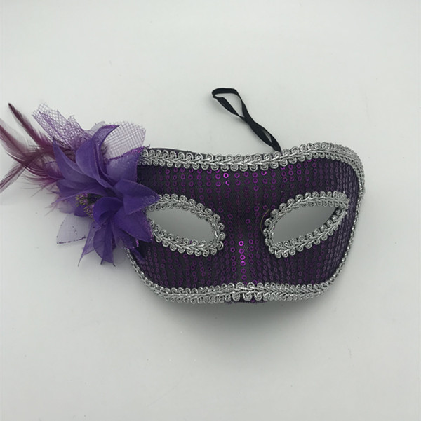 Fantastic Venetian Masks For Women's Sequin Eye Mask
