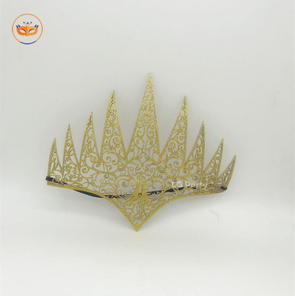 Gold Die Cut Royal Crown
