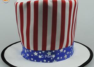 USA Flag Hat Patriotic Top Hat