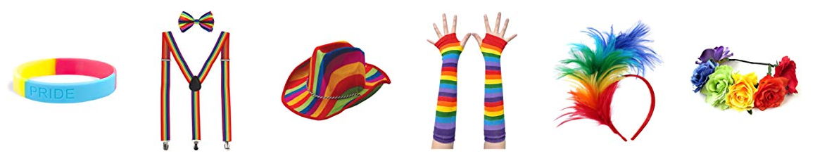 Pride Supplies Pride Eyeglasses Pride Hat Pride Glove