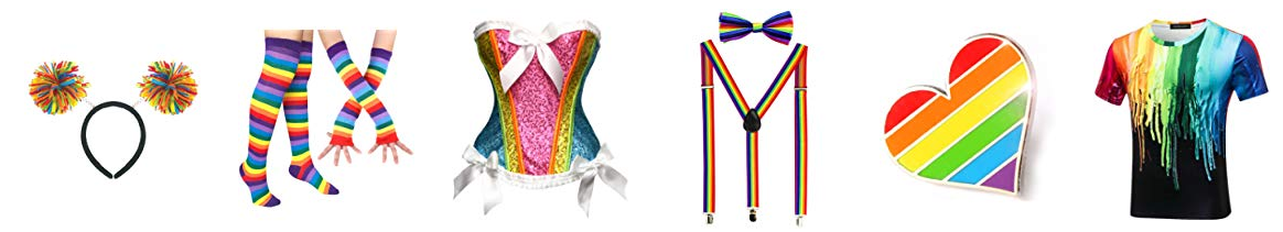 Pride Supplies Pride Eyeglasses Pride Hat Pride Glove Pride Suspender