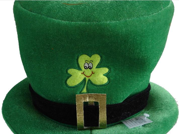 Shamrock Hat Details
