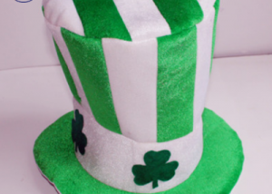 ST Patrick's Day Top Hats For Lucky Green Novelty