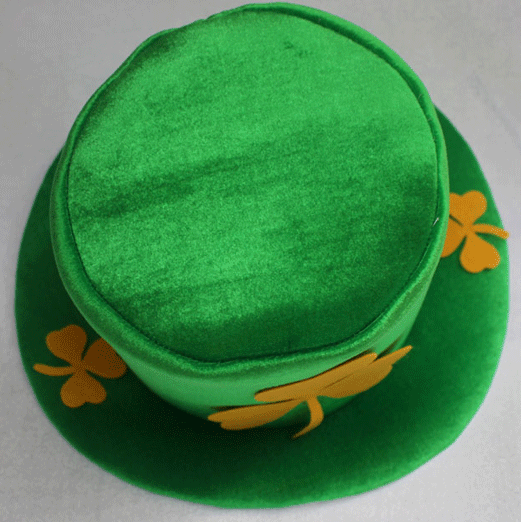 St. Patrick Day Costume Leprechaun Top Hat