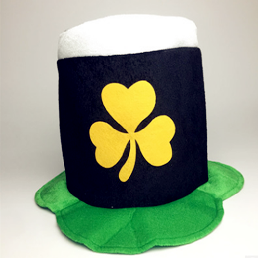Costume Wear St Patrick Day Shamrock Top Hat