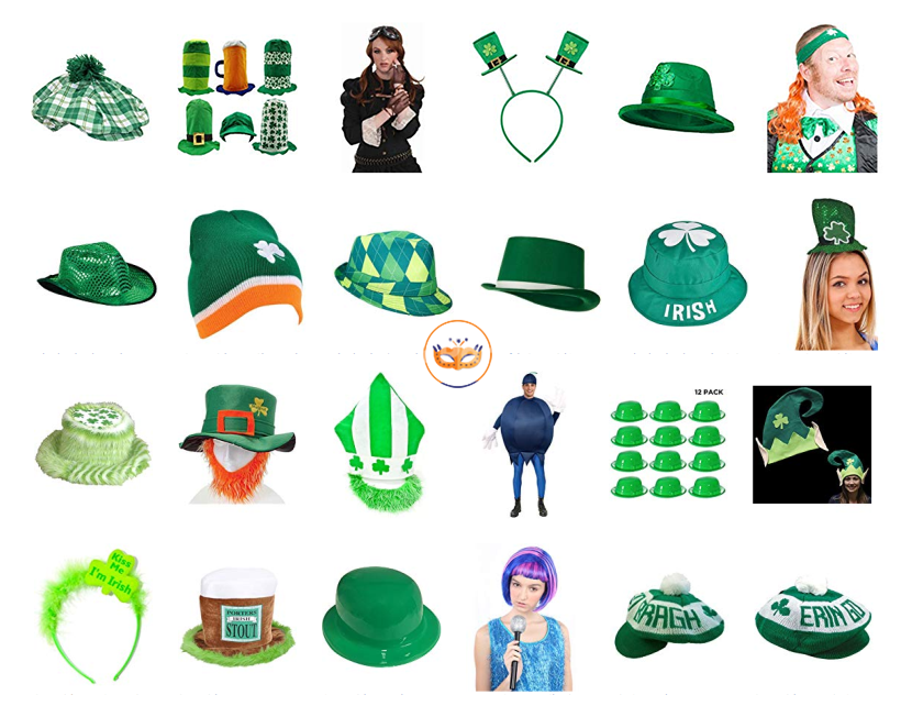 St. Patrick's Day Costume Accesories