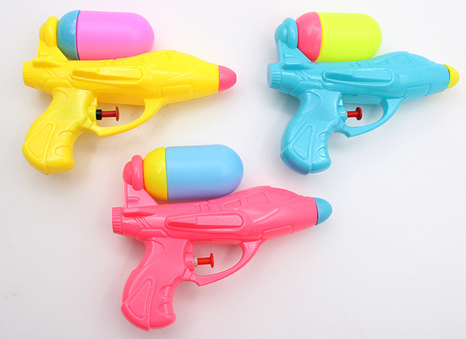 3 Packs Assorted Water Gun Play Toy Water Squirt Water Fight Toys