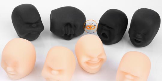 Humorous Face Shape Party Toys Anti-stress Toys