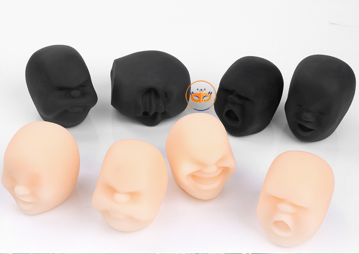 Humorous Face Shape Party Toys Anti-stress Toys