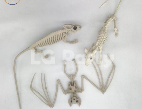 Halloween Scene Decor Crazy Bonez Skeleton Spider Skeleton Rat
