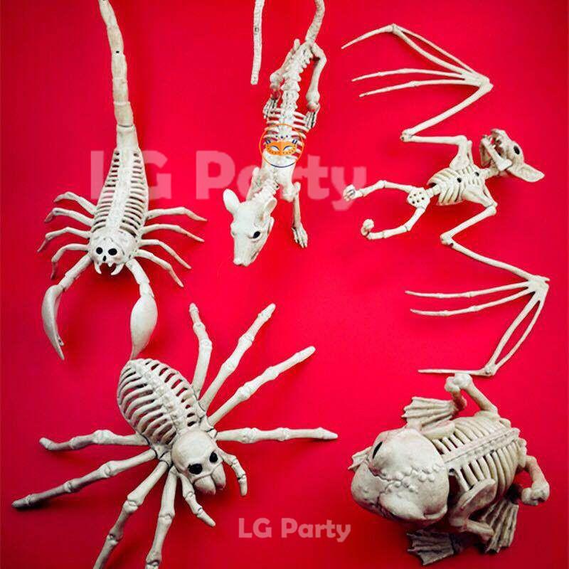 Halloween Supplies Crazy Bonez Skeleton Spider Skeleton Rat