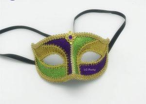 PGG Mardi Gras Lace Mask Venetian Mask Costume Party Accessory